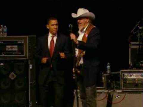 Barack Obama Sings with Asleep at the Wheel