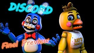"""[SFM] [FNaF] """"Discord"""" by Eurobeat Brony (Remix by The Living Tombstone) [Final Preview]"""