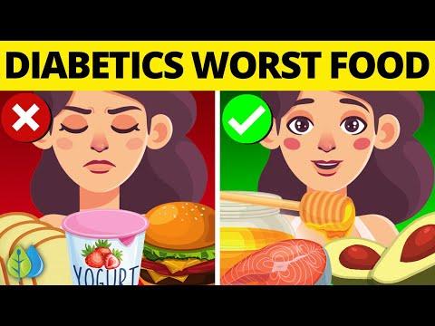 🆕17 Worst Foods For Diabetics - Diabetes Avoid Food (Must See!)