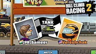 Vereshchak VS [PR]Sameer HILL CLIMB RACING 2 GamePlay 🔥