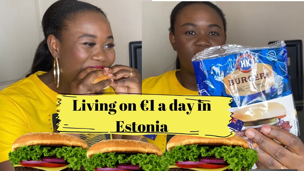 How to Live on €1 a day in Estonia | Tallinn hacks | Laide Bada