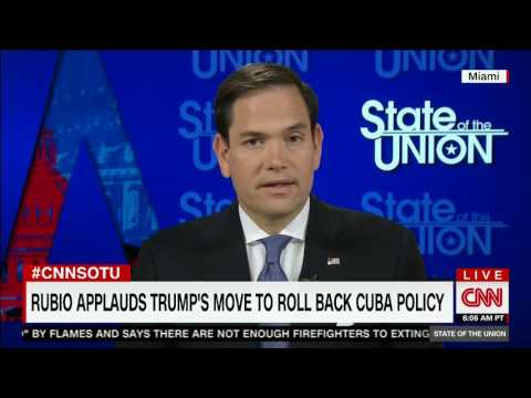 Rubio discusses Russia, Cuba, health care reform on CNN State of the Union