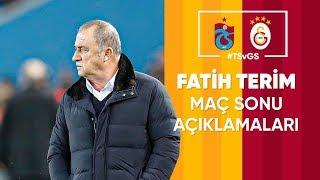 🎙 Teknik direktörümüz Fatih Terim'in maç sonu açıklamaları | #TSvGS