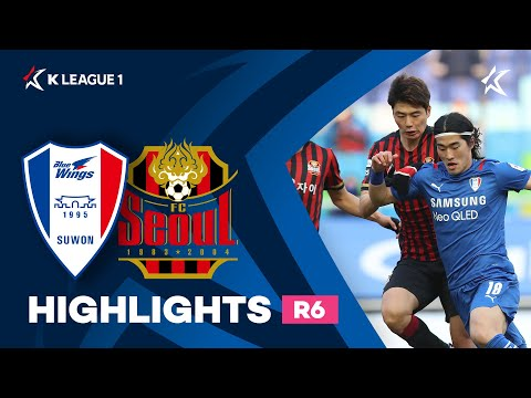 Suwon Bluewings Seoul Goals And Highlights