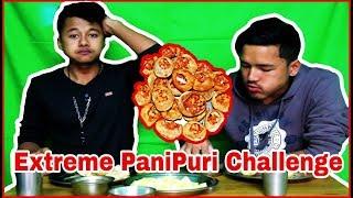 new panipuri challenge video