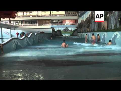 Kabul's first ever water park opens