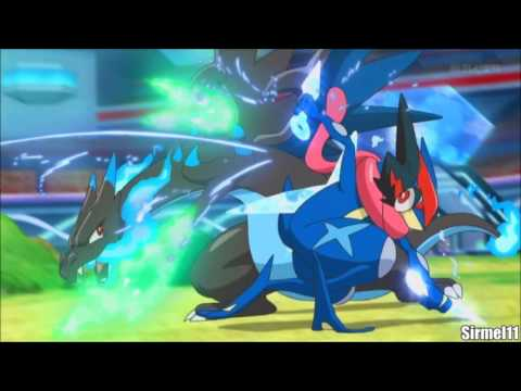 Ash Vs Alain Kalos League Finals Full Fight Pokemon Xyz