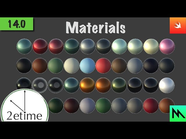 14: Materials  | Swift Game Engine