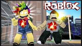 CRAZY BABY PAINTED Rainbow HAIR on ROBLOX