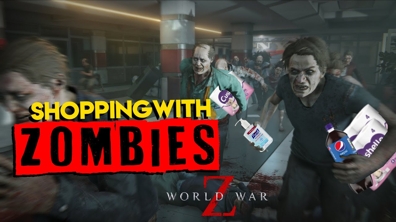 Shopping With Zombies (World War Z Gameplay)