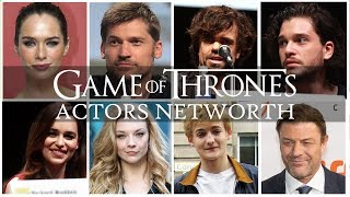 Game of Thrones - Net Worth of Actors! WINTER IS COMING