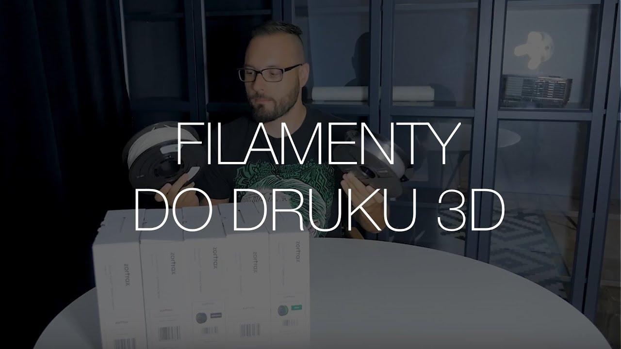 Jaki filament do druku 3D wybrać? Podpowiadamy