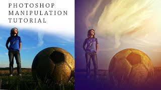 Photoshop Manipulation Tutorial | Football Soft Light Photo Effects