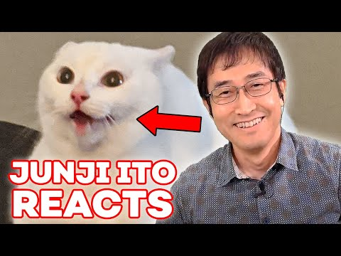 Junji Ito Reacts to YOUR Cats | Reacts