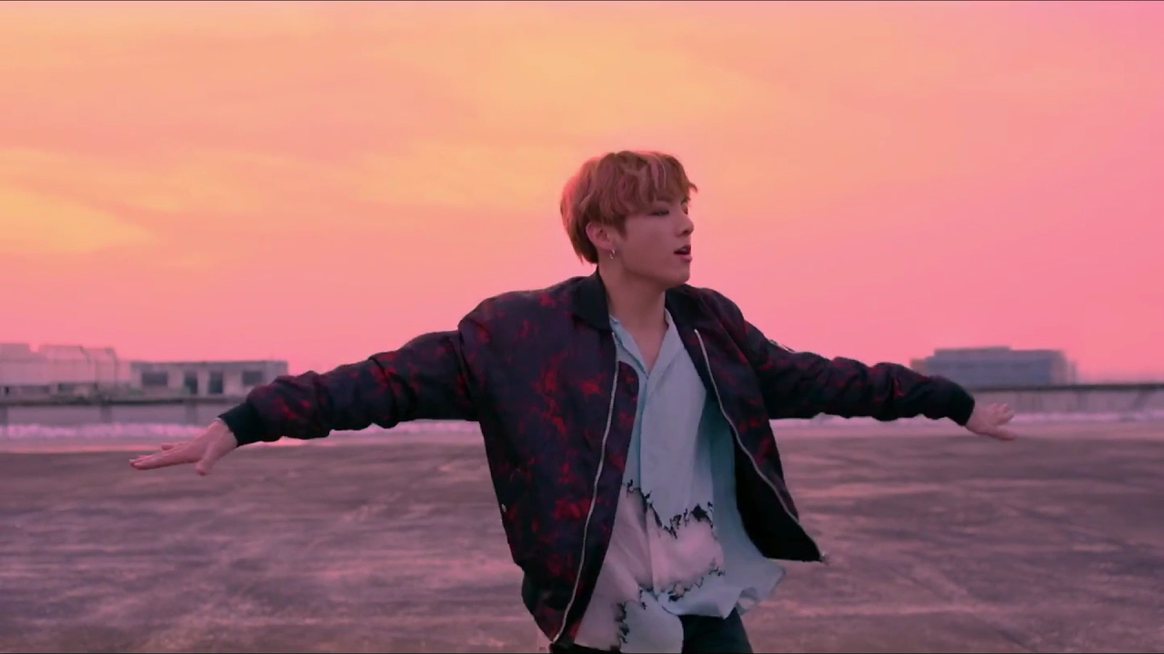 jungkook in not today mv 1 hour loop   youtube