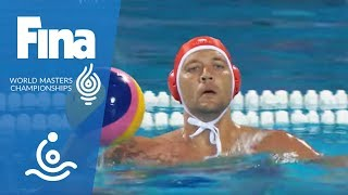 RE-LIVE - Water Polo Day 7: St. Petersburg - Millennium HUN   FINA World Masters 2017 Budapest