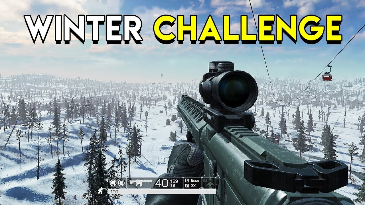The Winter Challenge! - Ring of Elysium (RoE)