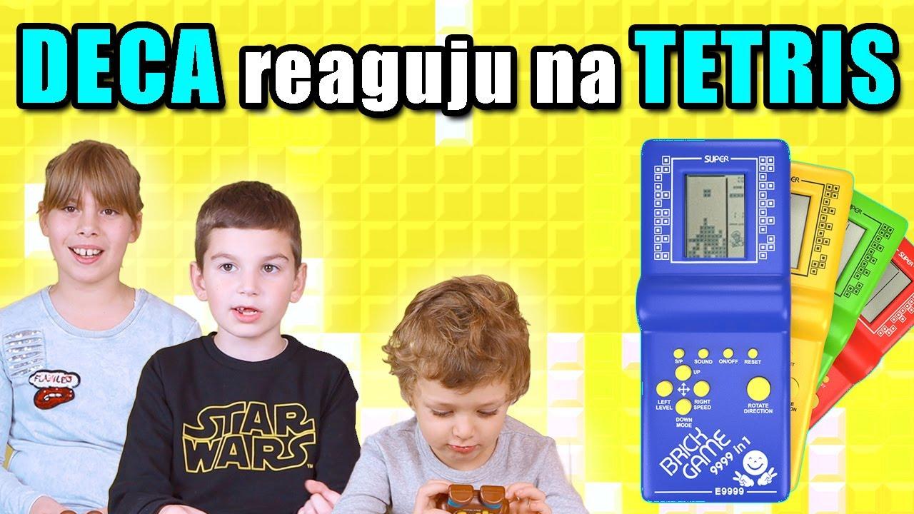 Deca PRVI PUT igraju TETRIS | Slonoxy Pictures