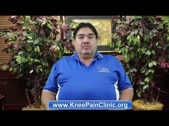 Knee Pain Clinic Mr. Cantu English Review