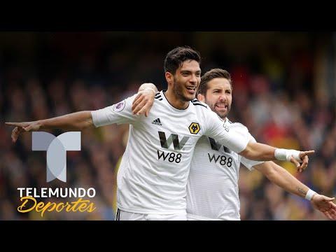Raúl Jiménez es pura felicidad tras reencontrarse con el gol | Premier League | Telemundo Deportes
