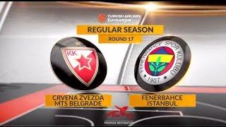 Highlights: Crvena Zvezda mts Belgrade - Fenerbahce Istanbul