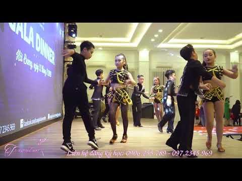 Đồng Diễn Cha Cha Cha - Trang Bùi DanceSport Hải Dương