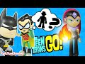 TEEN TITANS GO! Toys Robin Searches for Gizmo, Red X from Teen Titans a Funny Video Epic Toy Channel
