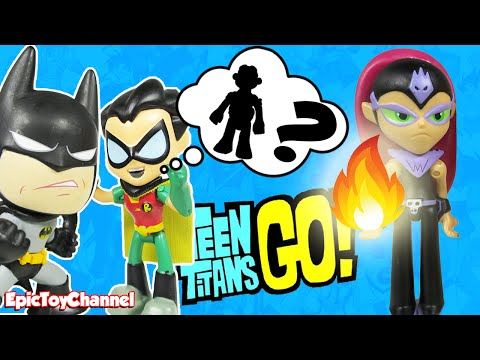 TEEN TITANS GO! Toys Robin Searches for...