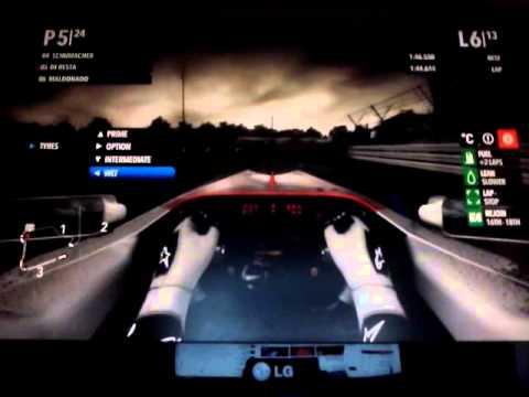 2013 British GP commentary Paul di Resta 13 Laps