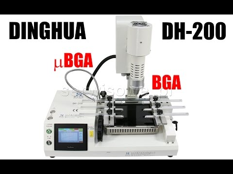 Dinghua DH-200 Mobile BGA Rework Station For Mobile Or Small Chips IPhone, Samsung, SONY, HTC