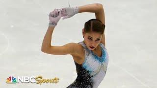 Alena Kostornaia's record-breaking short program at NHK Trophy   NBC Sports