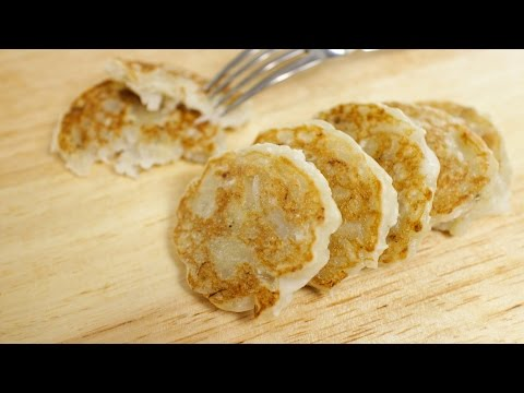 Chewy Banana Coconut Pancakes – Hot Thai Kitchen!