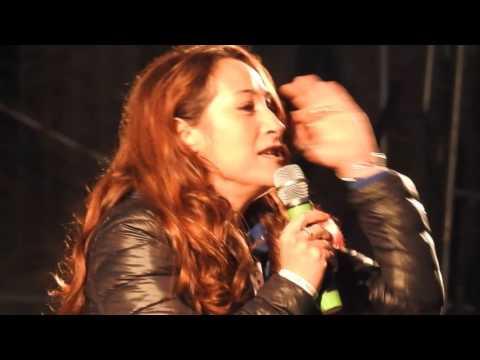 Lampi dal palco di Beppe Grillo e M5s