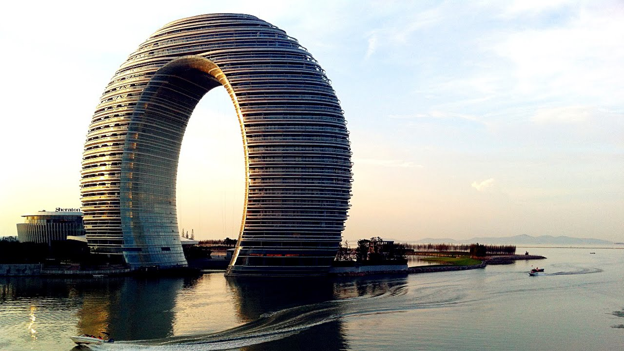 Los edificios m s modernos de china youtube for Arquitectura china moderna
