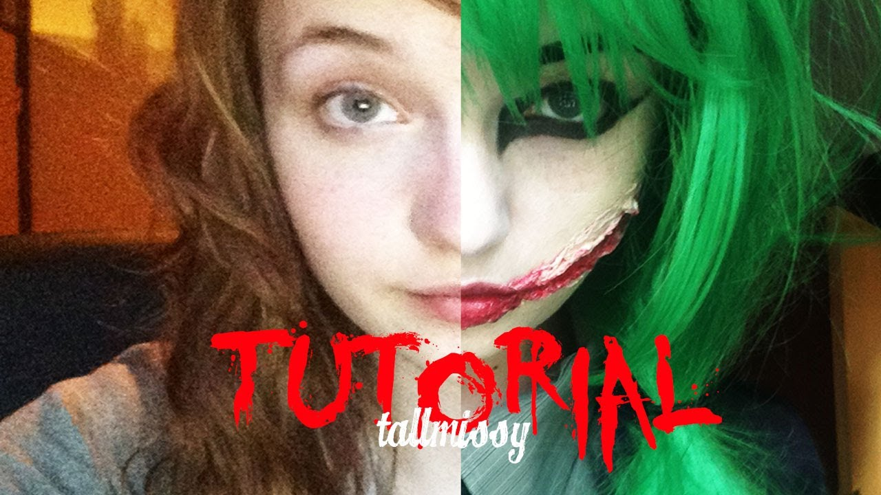 sc 1 st  YouTube & Tutorial: FEMALE JOKER | TallMissy - YouTube