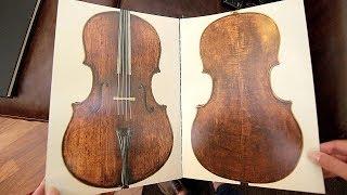 Guarneri vs Stradivarius vs Montagnana Cello Shapes - part 2   Luthier Lessons