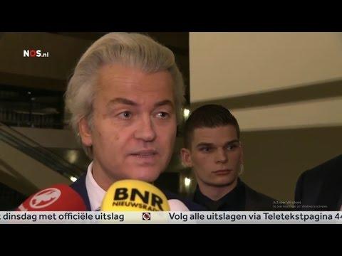 EXTRA LANGE UITZENDING - PVV tweede, Wilders reageert