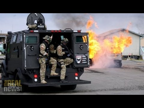 The Companies Profiting from Police Militarization