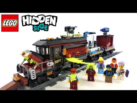 Repeat LEGO Hidden Side Set 70424 - Geister-Expresszug