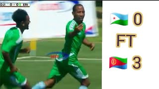 Djibuti Vs Eritrea CECAFA senior 2019  Highlights All goals