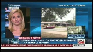Suspected shooter at Fort Hood in Texas is dead, base on lockdown (April 2, 2014, 8:00 PM CT)