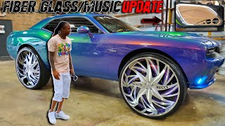 MY CHALLENGER FIBERGLASS/MUSIC UPDATE THIS IS NEXT LEVEL CUSTOMIZATION