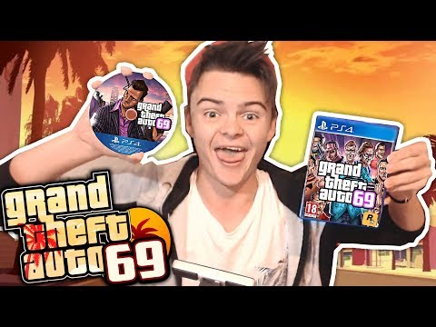 GTA 69 Unboxing & Gameplay! *not Clickbait*