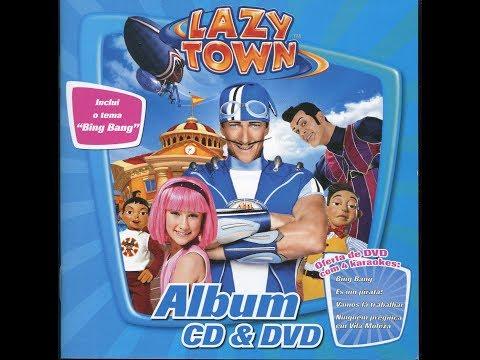 LazyTown/Vila Moleza - [Português] com letras [CD]