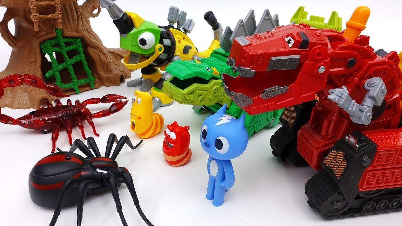 Go Go Dinotrux! Protect Dinosaur Park from Monster Bugs #1