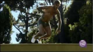 Spot de David Beckham corriendo en calzoncillos
