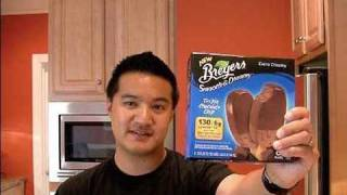 Review Of Breyers Smooth And Dreamy Triple Chocolate Chip: Freezerburns (ep349)
