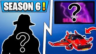 *BIG* Fortnite Update! | Battle Pass Skin, Name Revealed, Secret Hats! ( Season 6 )