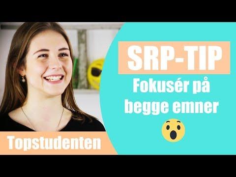 SRP-TIP: Det er vigtigt at fokusere på begge fag. Se her hvorfor.