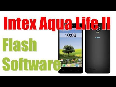 Intex Aqua Life II  Stock Firmware Flash Software